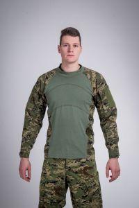 Defense shirt wood camo