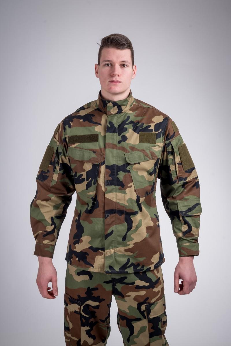 Combat shirt wood camo