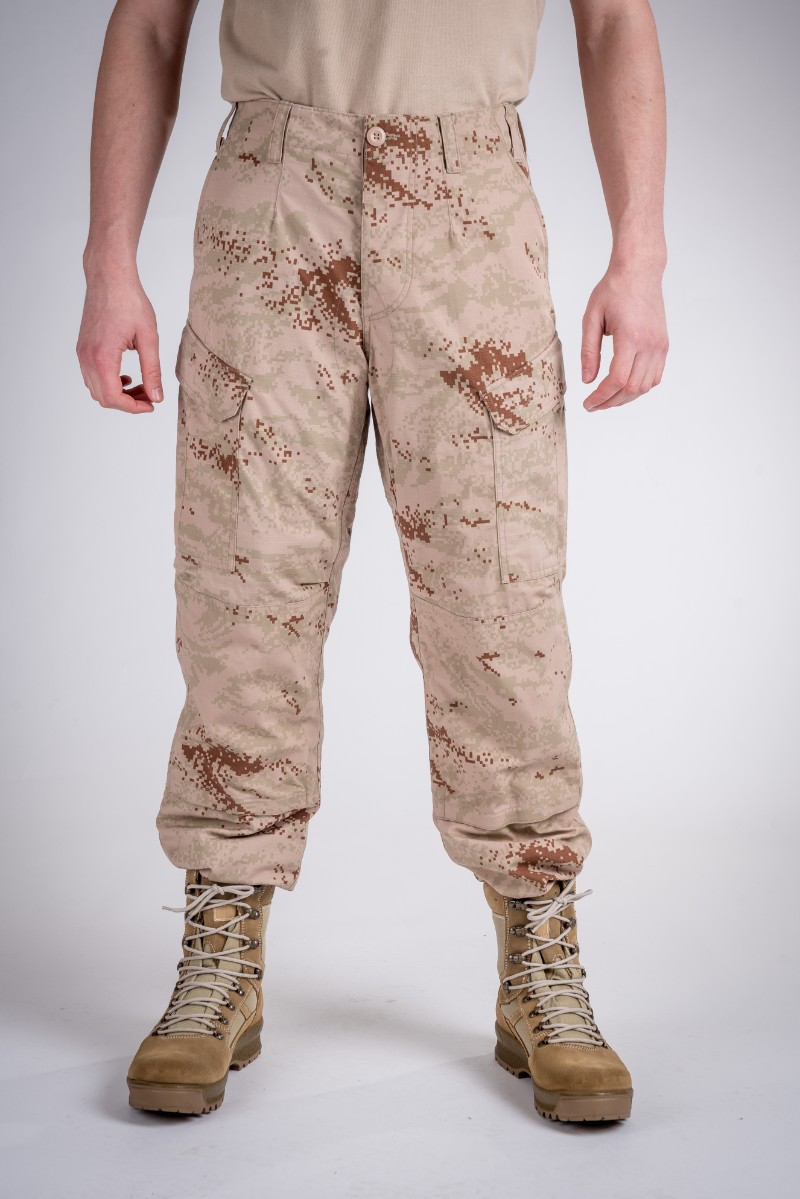 Combat pants desert camo