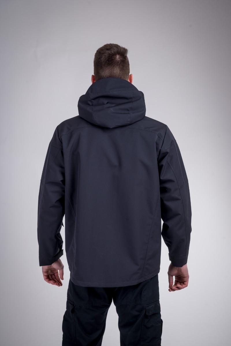 Patrol waterproof jacket black