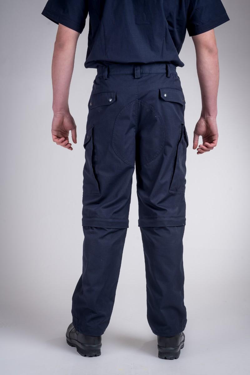 Patrol pants combined dark blue