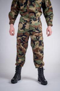 Battle pants wood camo