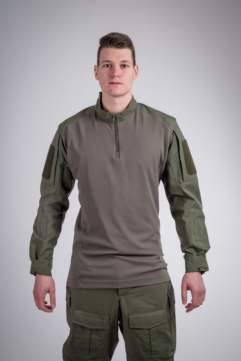 Defense shirt olive green