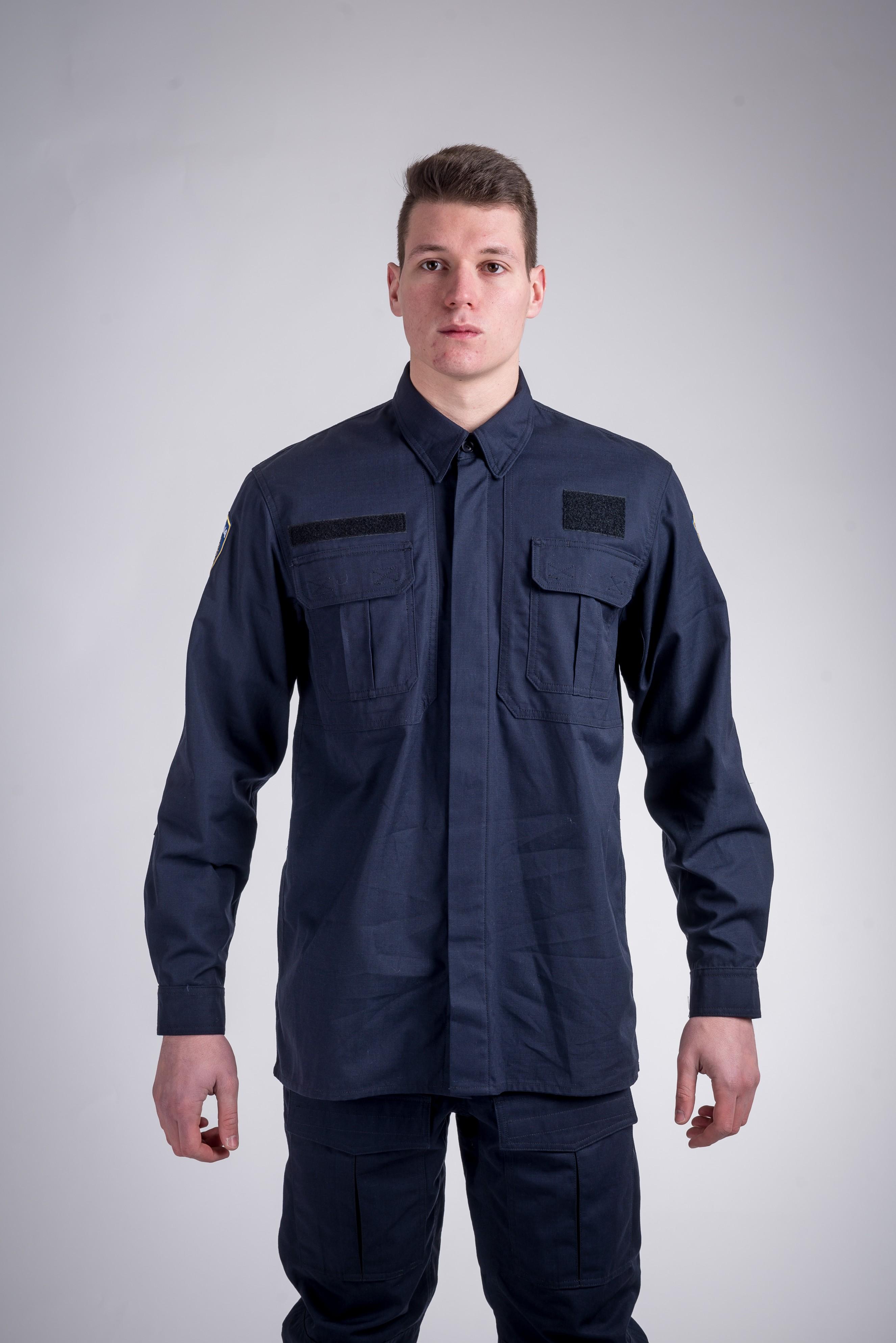 Patrol shirt dark blue