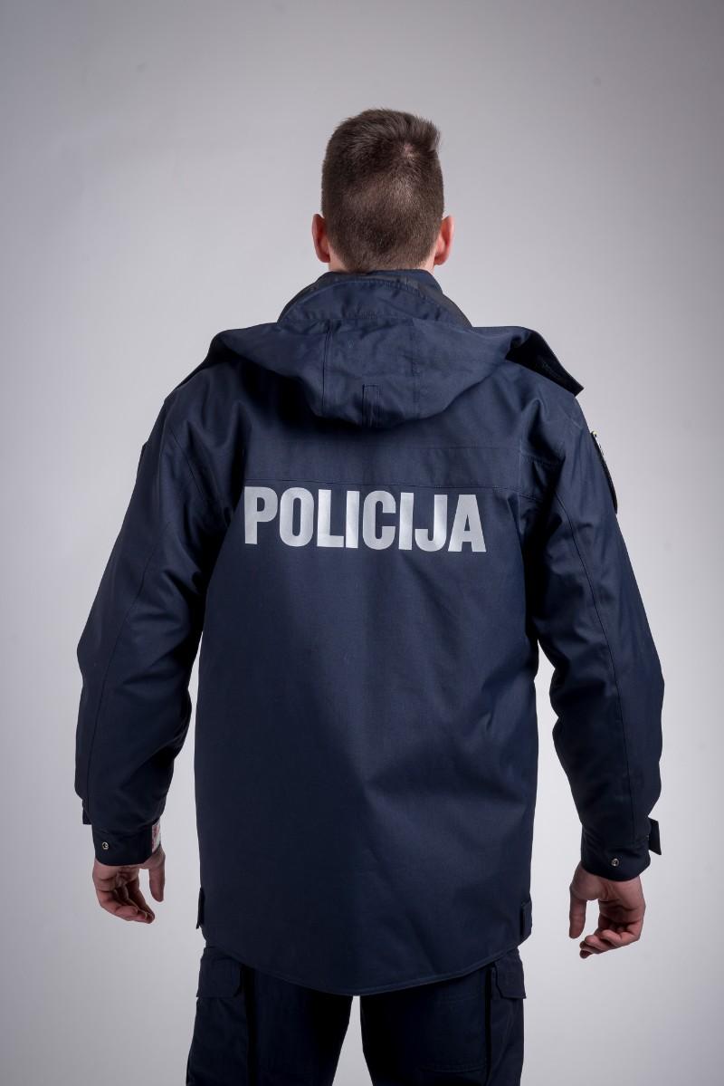 Patrol waterproof jacket dark blue