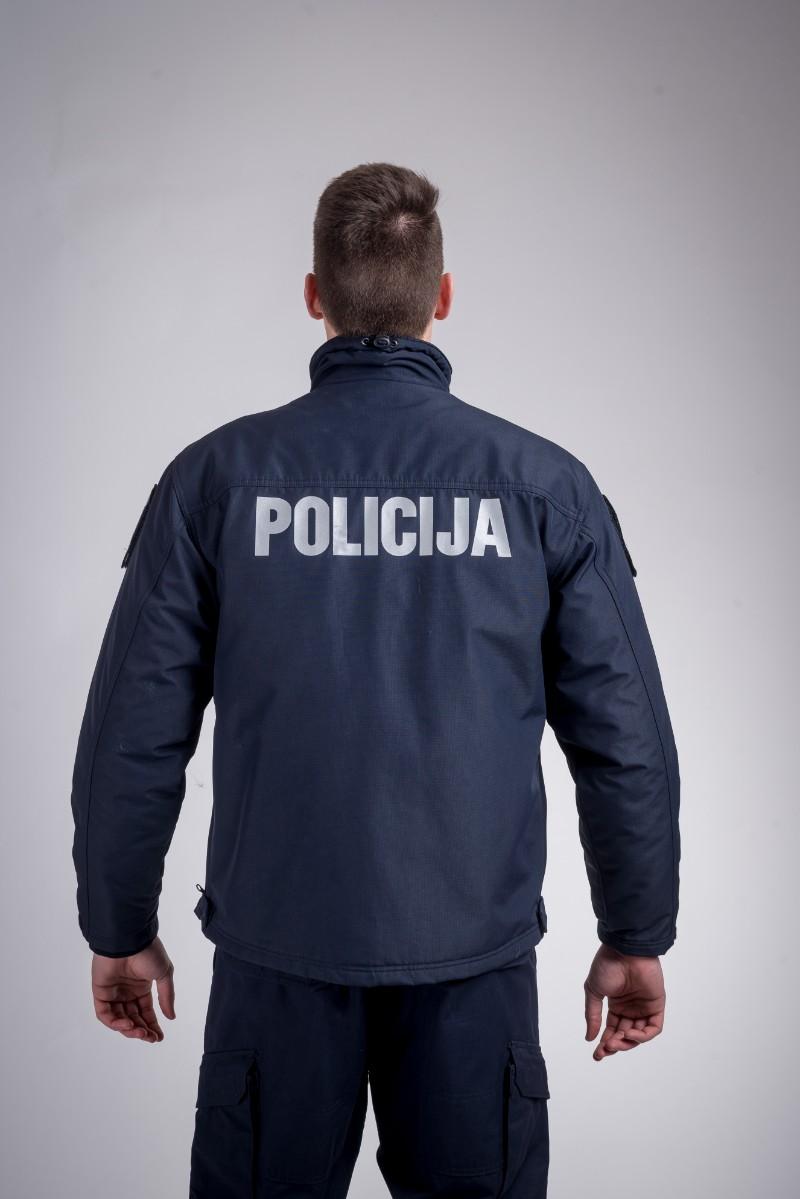 Patrol windproof jacket dark blue