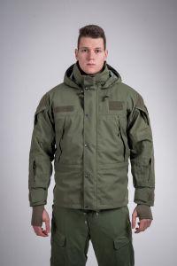 Tactical waterproof jacket olive green
