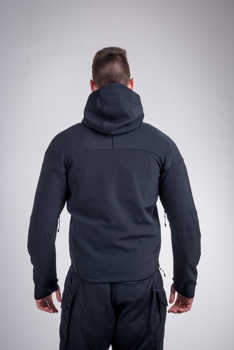 Combat windproof jacket black