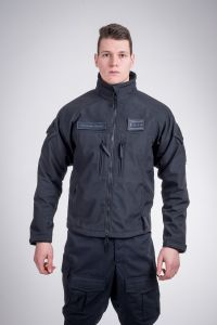 Tactical windproof jacket black
