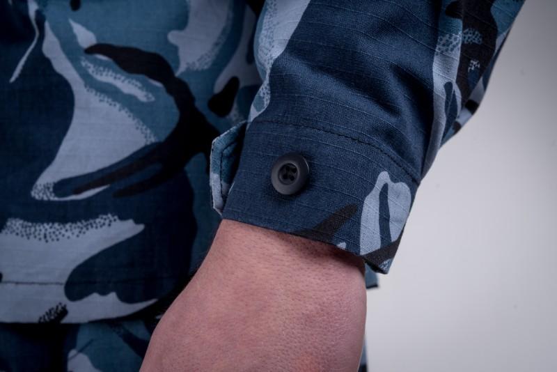 Battle shirt blue camo