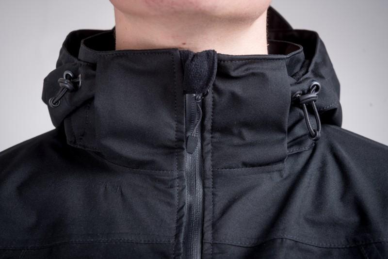 Combat waterproof jacket black