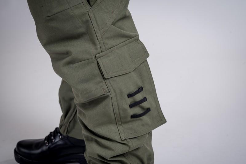 Defense pants olive green