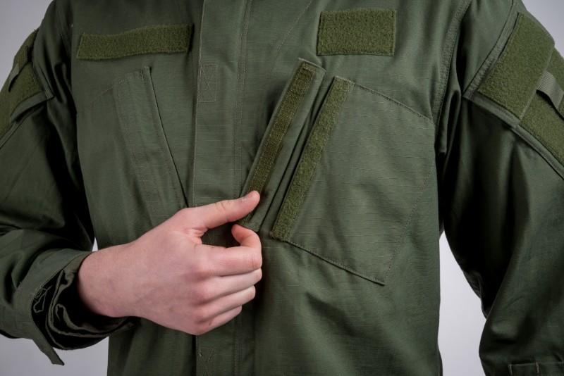 Tactical shirt olive green
